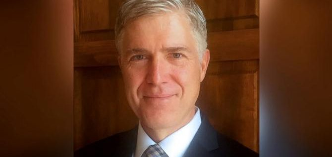 Open Letter to Judge Neil Gorsuch