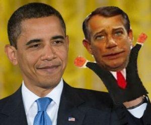 Boehner-Obama Puppet