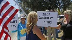 Protest Sanctuary Cities & CA