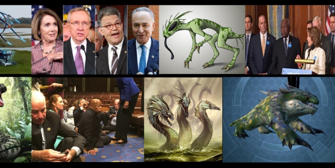 When Draining The Swamp, Did You Think The Creatures Would Not Object?