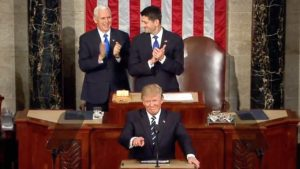 Trump 2017 Joint Congress Address