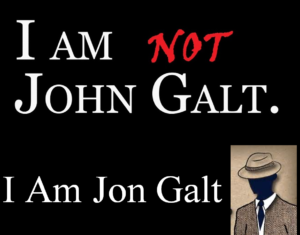 I am Jon not John Galt