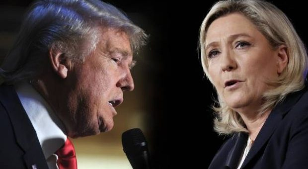 Marine Le Pen and President Trump, Perfect Together?