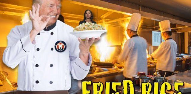 Fried Rice ala Obama Anyone?