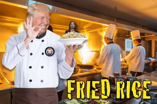 Fried Rice ala Obama Anyone?