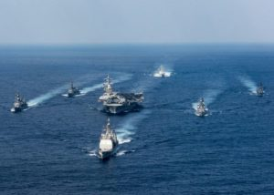US Navy Strike Force