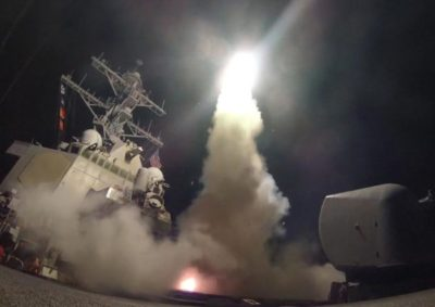Trump Orders US Missile Strike in Syria