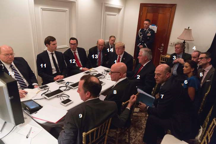 Mar-a-Lago Syrian War Room