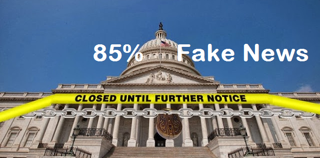 Government Shut Down is 85% Fake News