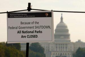 Gov Shutdown - Parks