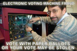 Voter Machine Tampering