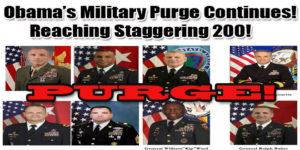 Obama Military Purge