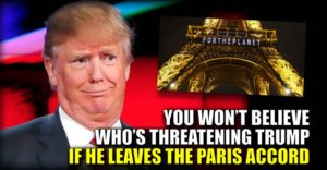Paris Accord Threats