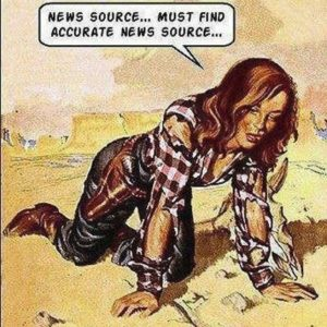 Parched for Accurate News