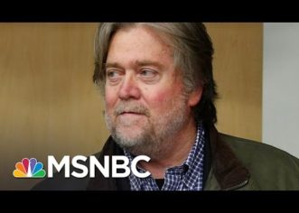 MSNBC Attack on Steve Bannon is More Fake News