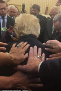 Prayer - Trump