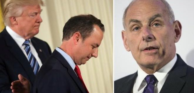 Priebus Out; Kelly In; Let The Draining Commence!
