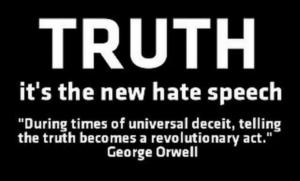 Truth New hate Speech