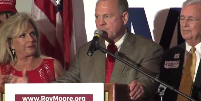 ROY MOORE WINS AL SENATE PRIMARY